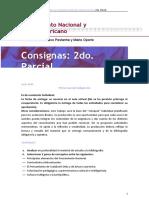 Consignas del 2do. parcial 2020