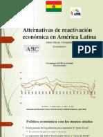 Reactivación económica post Covid