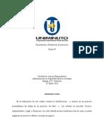 Identificación y Criterios de Un Proyecto. 2020