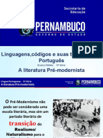 A literatura pré-modernista..ppt