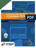 Accede Plataforma Virtual estudiante