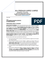 PODER EDILMA MONTOYA HERRERA  SUCESION LA VIRGINIA JUZGADO