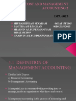 COST AND MANAGEMENT ACCOUNTING 2