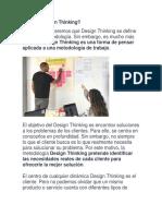Qué es Design Thinking