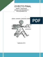 [PDF] PROYECTO REDES Y SEGURIDAD SENA MANUAL DE PROCEDIMIENTOS.docx