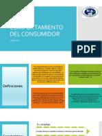 COMPORTAMIENTO DEL CONSUMIDOR. TEMA 1