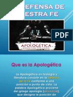 Sesion 1 de apología