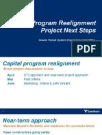 Presentation - Capital Program Realignment Project Next Steps - July 2020