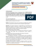 Especificaciones Tecnicas Parco Modificado
