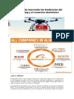 Caso Alibaba marcando las tendencias del networking y el comercio electrónico.docx