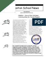 Swanton School Newsletter 1.04.2011