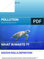 Biology - Pollution