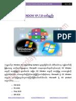 Window XP 7 8 Installation Guide(www.ecolayit.blogspot.com