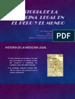 Introducción a La Medicina Legal II Historia de La Medicina Legal