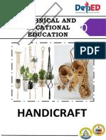 Sptve10 Handicraft10 q1 Week1 Day1 Module1
