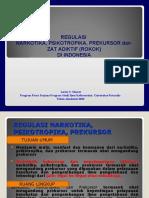 Kuliah 6_Regulasi Narkotika, Psikotropika, Prekursor, dan Zat Adiktif (update)