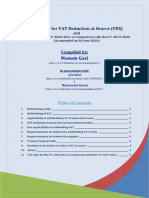 VDS Guideline and VAT Rate for the FY 2020-2021 in comparison with the FY 2019-2020