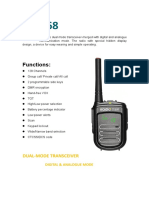Ultra small DMR DP-168