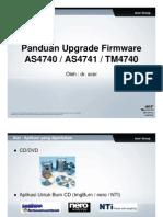 Panduan Update Firmware AS4741 TM4740Z