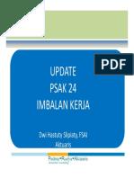 Update-PSAK_24-Imbalan(paska)Kerja-dampak
