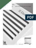 Manual Electrolux ECH-AG-EF