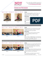 Piriformis-Home-Exercise-Program