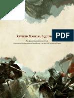 Revised Martial Equipment 1.6.0