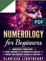 Numerology for Beginners_ Numer - Clarissa Lightheart