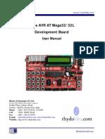 eCee AVR Mega32 - Users Manual