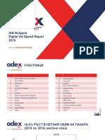 IAB Bulgaria ADEX Report 2019 FINAL BG SLides Media