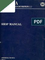Lancia Beta Service Manual