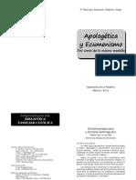 Apologética y Ecumenismo.pdf