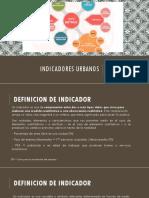 INDICADORES URBANOS