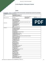 European Patent Register