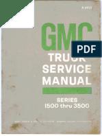 Truck Gmc 1500 3500 Service Manual