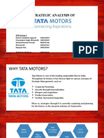 Tata Motors Strategy