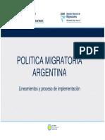 Arias Martin-POLITICA MIGRATORIA