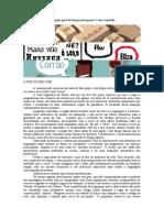 avaliação geral de português 7º ano 2017- Península