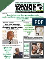 semaine africaine n°3981