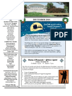Hannibal Country Club December 2010 Newsletter