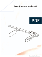 Height Measure Detector Weighing