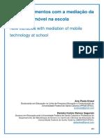 Novos letramentos com a mediação da tecnologia móvel na escola