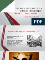 CLASE 1 - CESACIÓN DE  LA PRISIÓN PREVENTIVA – DECRETO LEGISLATIVO 1513.pptx