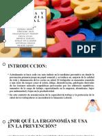 Gimnasia y Ergonomia Laboral
