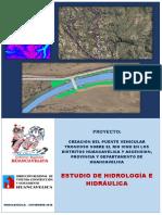 1. Memoria Hidrología, Hidráulica