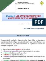 Cours M2 IBG-Rédaction mémoire