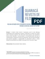 02 Artigo - Razão e Intelecto em Plotino - Robert Brenner - Guiaracá Revista de Filosofia 2019.pdf