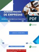 MATEMÁTICAS FINANCIERAS. UNIDAD 2 - AROCHA