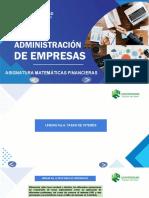 MATEMÁTICAS FINANCIERAS. UNIDAD 4 - AROCHA