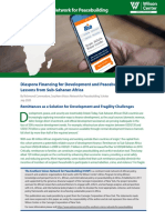 Diaspora Financing for Development and Peacebuilding Lessons From Sub-Saharan Africa